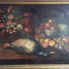 Arte: BODEGÓN NATURALEZA MUERTA ,SIGLO XVIII -. Lote 275323353