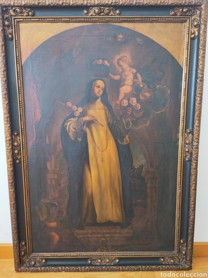 CUADRO ANTIGUO RELIGIOSO (Arte - Pintura - Pintura al Óleo Antigua sin fecha definida)
