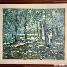 Arte: PINTURA IMPRESIONISTA A PALETA G. ESTEBAN. Lote 275780658