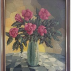 Arte: MIGUEL COMAS BENITO (BARCELONA, 1919-2007) - NATURALEZA MUERTA.OLEO/TELA.FIRMADO.. Lote 275746188