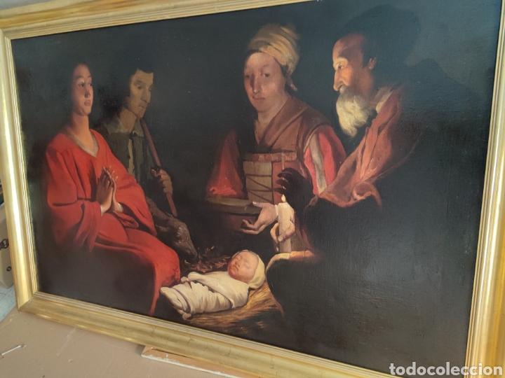 Arte: Cuadro religioso antiguo - Foto 3 - 276018833