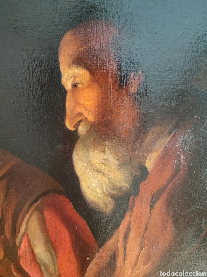 Arte: Cuadro religioso antiguo - Foto 4 - 276018833