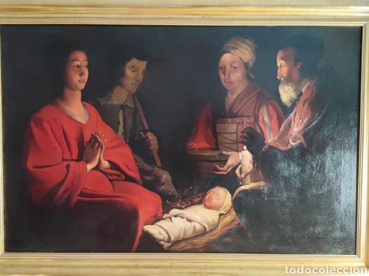 CUADRO RELIGIOSO ANTIGUO (Arte - Pintura - Pintura al Óleo Antigua sin fecha definida)