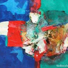Arte: CARLOS MENDEZ (BUENOS AIRES, 1943) OLEO SOBRE TELA TITULADO DEMOS I. Lote 276075458
