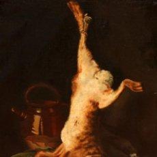 Arte: FIRMADO F.BOIREL. OLEO SOBRE TELA DE APROXIMADAMENTE 1900. NATURALEZA MUERTA. Lote 276077188