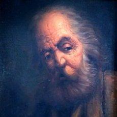 Arte: ANCIANO - JUAN BAUTISTA SOLER 1924 - 1984. Lote 276124408