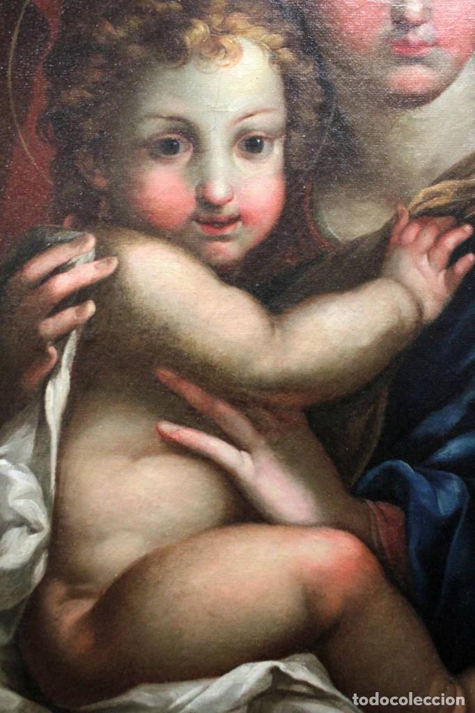 Arte: Vicente López Portaña (1772-1850) Virgen con el niño Jesús. O/L - Foto 5 - 276181893
