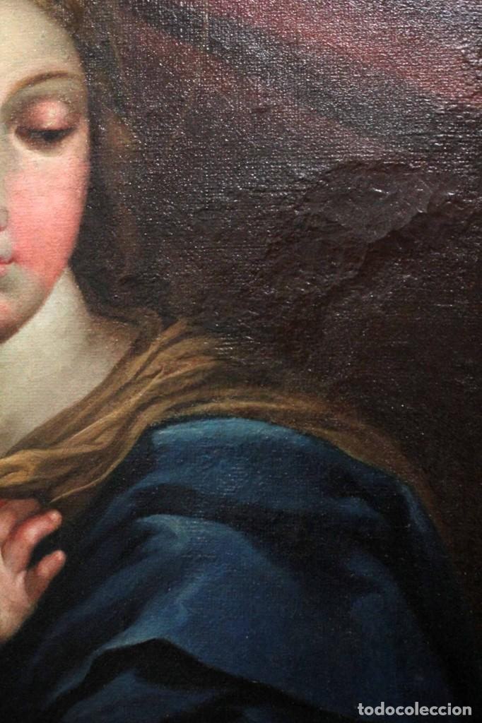 Arte: Vicente López Portaña (1772-1850) Virgen con el niño Jesús. O/L - Foto 8 - 276181893