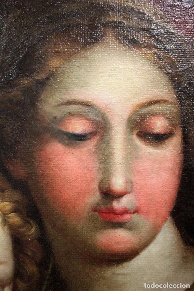 Arte: Vicente López Portaña (1772-1850) Virgen con el niño Jesús. O/L - Foto 9 - 276181893