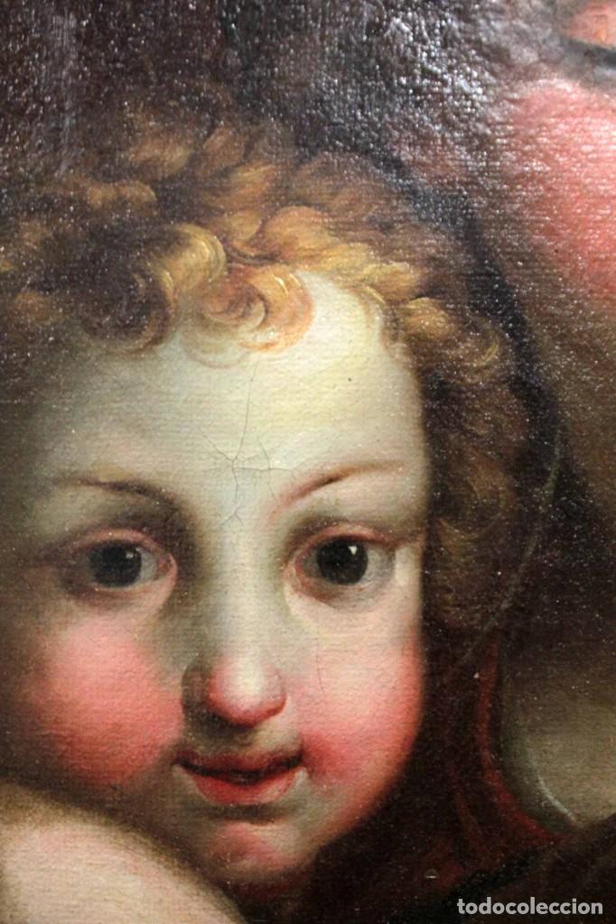 Arte: Vicente López Portaña (1772-1850) Virgen con el niño Jesús. O/L - Foto 10 - 276181893