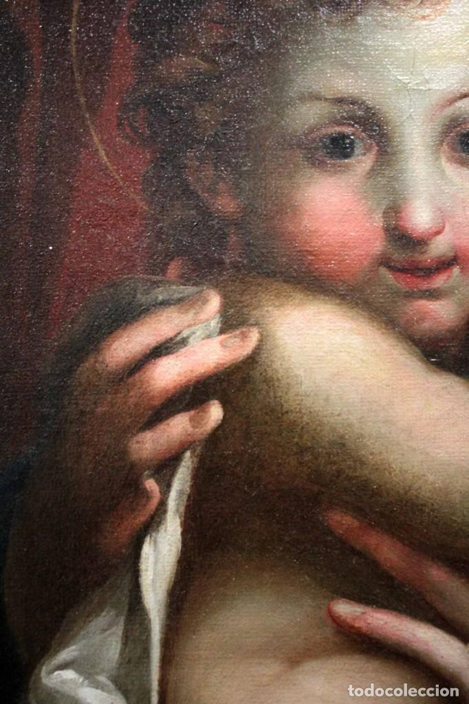 Arte: Vicente López Portaña (1772-1850) Virgen con el niño Jesús. O/L - Foto 12 - 276181893