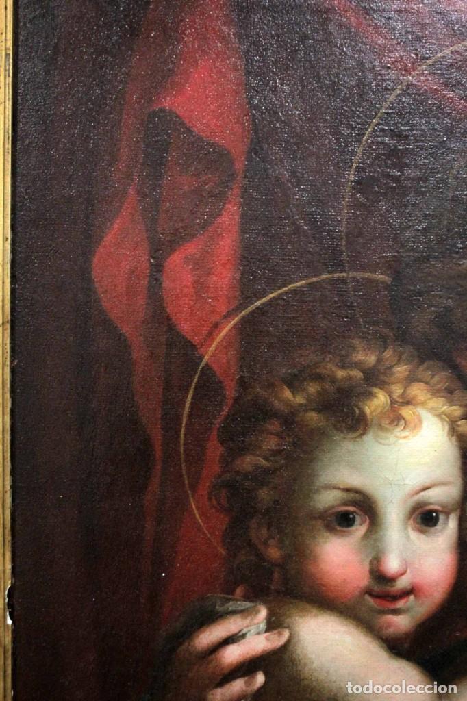 Arte: Vicente López Portaña (1772-1850) Virgen con el niño Jesús. O/L - Foto 14 - 276181893