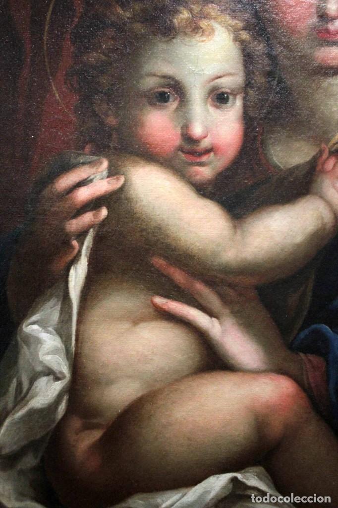 Arte: Vicente López Portaña (1772-1850) Virgen con el niño Jesús. O/L - Foto 15 - 276181893