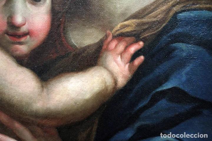 Arte: Vicente López Portaña (1772-1850) Virgen con el niño Jesús. O/L - Foto 17 - 276181893
