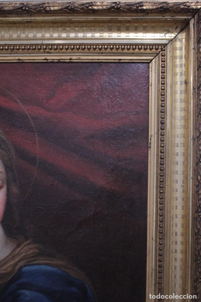 Arte: Vicente López Portaña (1772-1850) Virgen con el niño Jesús. O/L - Foto 18 - 276181893