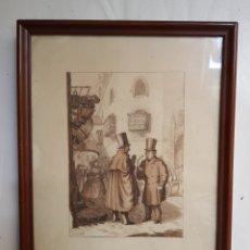 Arte: ACUARELA ENMARCADA DE LOLA ANGLADA, 1896, 1984, ILUSTRADORA Y ESCRITORA DE CUENTOS INFANTILES.. Lote 276568768