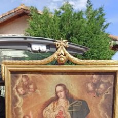 Arte: INMACULADA SIGLO XVIII. Lote 276632158