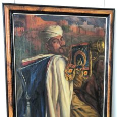Art: SOLDADO MUSULMÁN A CABALLO ( GUARDIA MORA DE FRANCO?) - MARRUECOS, ARGELIA, TUNEZ.... Lote 276660178