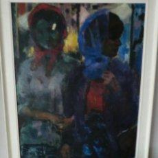 Arte: PINTOR ZAMORANO-JESÚS MOLINA ,OBRA ORIGINAL 110X69CM ÓLEO DE JESÚS MOLINA. Lote 276681508