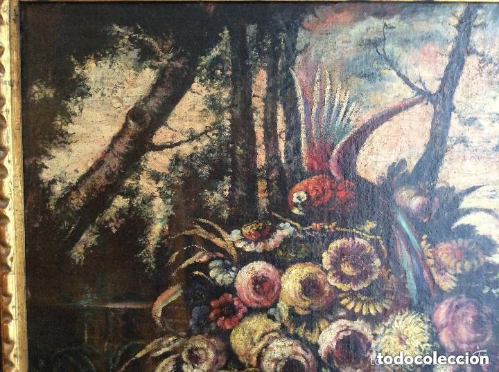 Arte: SIGLO XVIII ,BODEGÓN DE ESCUELA EUROPEA FINALES SIGLO XVIII -Medida 95X75cm - Foto 3 - 276686343