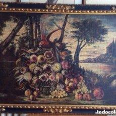 Arte: SIGLO XVIII ,BODEGÓN DE ESCUELA EUROPEA FINALES SIGLO XVIII -MEDIDA 95X75CM. Lote 276686343