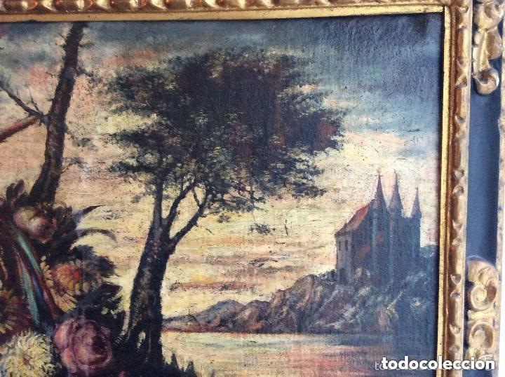 Arte: SIGLO XVIII ,BODEGÓN DE ESCUELA EUROPEA FINALES SIGLO XVIII -Medida 95X75cm - Foto 5 - 276686343