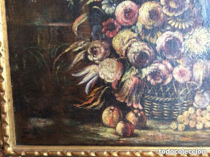 Arte: SIGLO XVIII ,BODEGÓN DE ESCUELA EUROPEA FINALES SIGLO XVIII -Medida 95X75cm - Foto 2 - 276686343