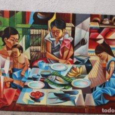 Arte: CUADRO ORIGINAL FIRMADO MOPHEL, FECHADO. Lote 276687003