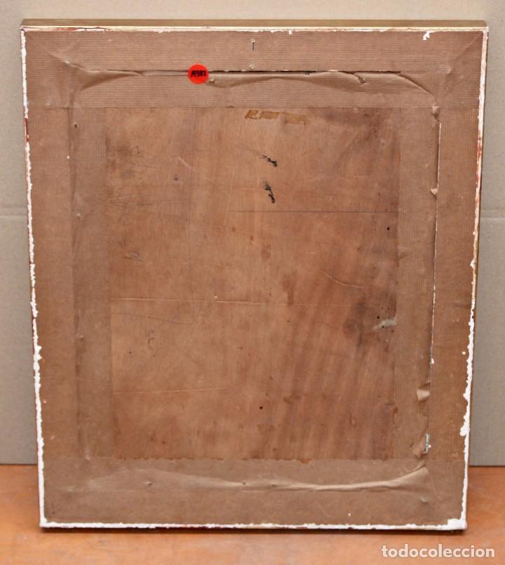 Arte: ESCUELA CATALANA DE PRINCIPIOS DEL SIGLO XX. OLEO SOBRE TABLA. RETRATO DE UN ANCIANO - Foto 6 - 276691903
