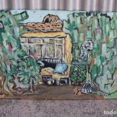 Arte: CUADRO ORIGINAL FIRMADO, OLEO - LIENZO. Lote 276698128