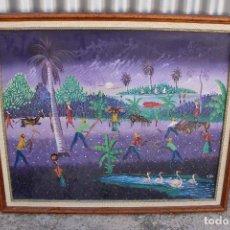 Arte: CUADRO ORIGINAL FIRMADO OLEO - TABLE. Lote 276699518