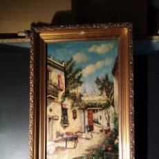 Arte: PRECIOSA PINTURA FIRMADA J. ROMERO. Lote 276714323
