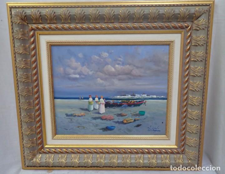 ÓLEO SOBRE TABLA J.LLORET (Arte - Pintura - Pintura al Óleo Contemporánea )