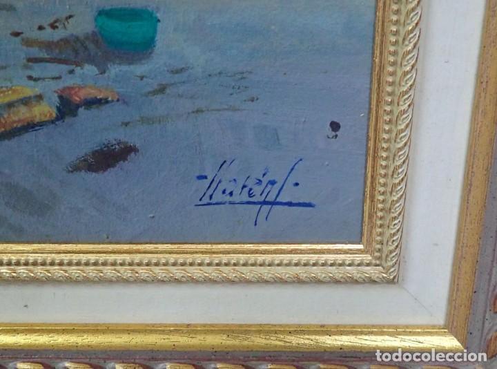 Arte: Óleo sobre tabla J.Lloret - Foto 3 - 276801698