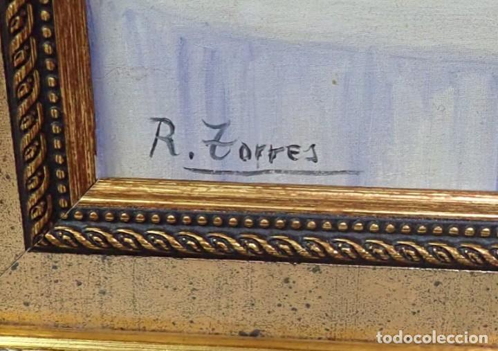 Arte: Óleo sobre lienzo R.Torres - Foto 3 - 276802748