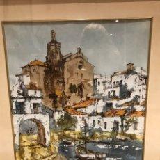 Arte: CUADRO DE BERNARD DUFOUR (1922-2016) ÓLEO ENMARCADO. Lote 276995248