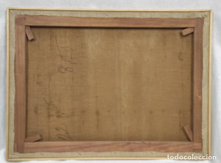 "Arte: ""Escena ecuestre"" óleo sobre lienzo- Ramon Borrell Pla ( 1876-1973) - Foto 7 - 277038083"