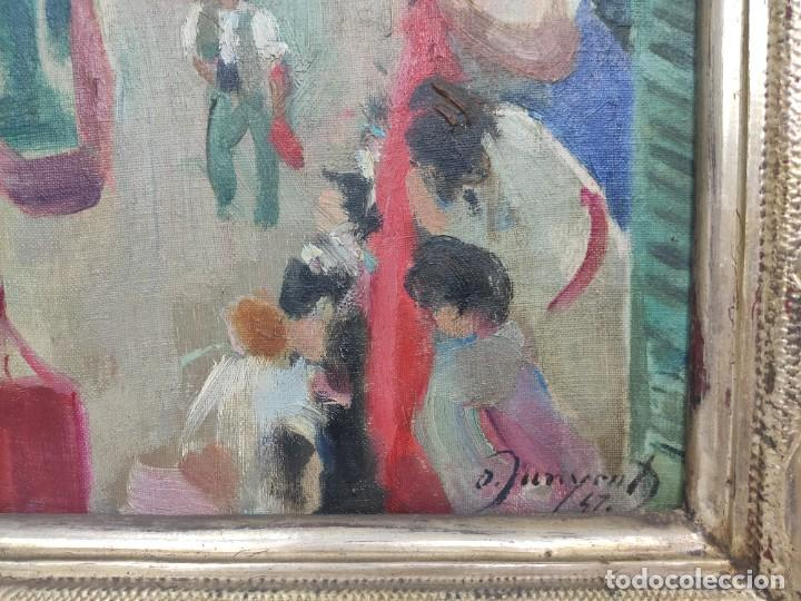 """Arte: """"Corpus Gracia"""" de Oleguer Junyent Sans (1876-1956) de 1947. Óleo sobre tela. - Foto 5 - 277044443"""