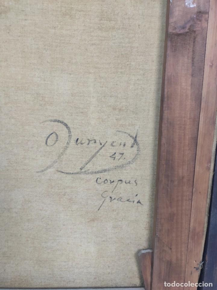 """Arte: """"Corpus Gracia"""" de Oleguer Junyent Sans (1876-1956) de 1947. Óleo sobre tela. - Foto 6 - 277044443"""