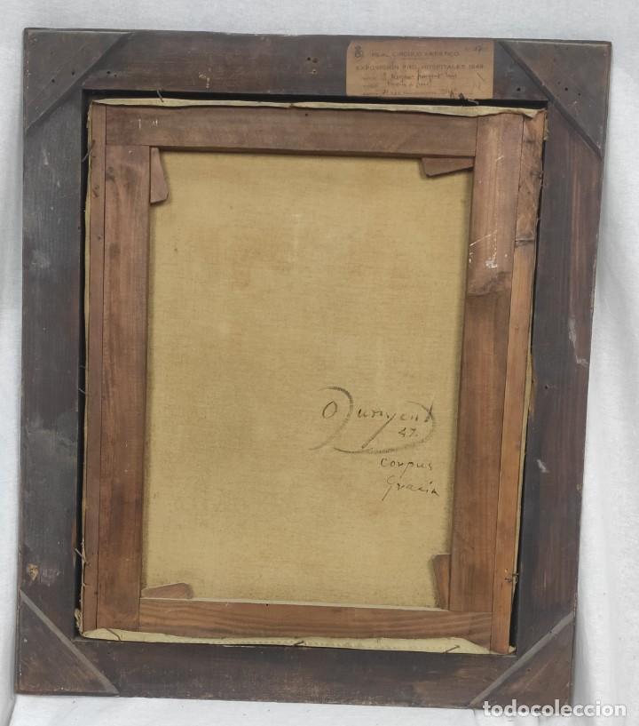 """Arte: """"Corpus Gracia"""" de Oleguer Junyent Sans (1876-1956) de 1947. Óleo sobre tela. - Foto 8 - 277044443"""