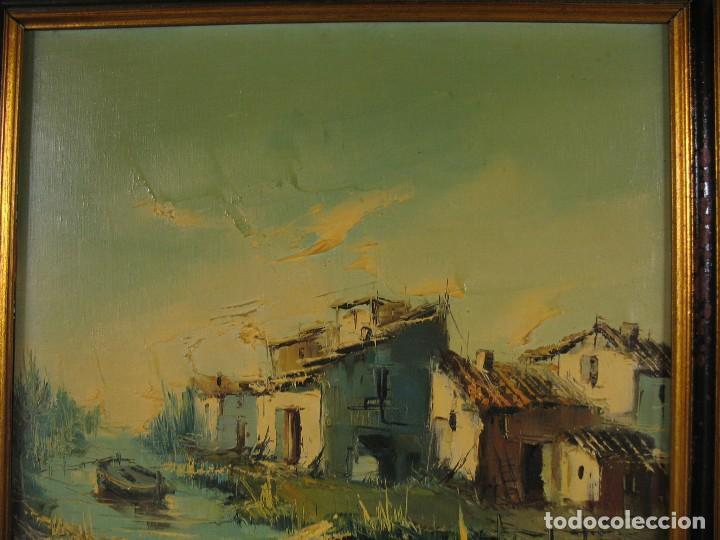CUADRO AL OLEO SOBRE TELA FIRMADO (Arte - Pintura - Pintura al Óleo Antigua sin fecha definida)