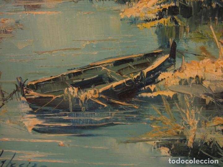 Arte: cuadro al oleo sobre tela firmado - Foto 2 - 277097263