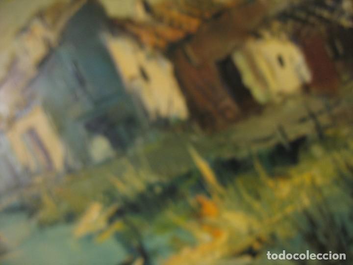 Arte: cuadro al oleo sobre tela firmado - Foto 5 - 277097263