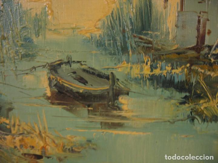 Arte: cuadro al oleo sobre tela firmado - Foto 6 - 277097263
