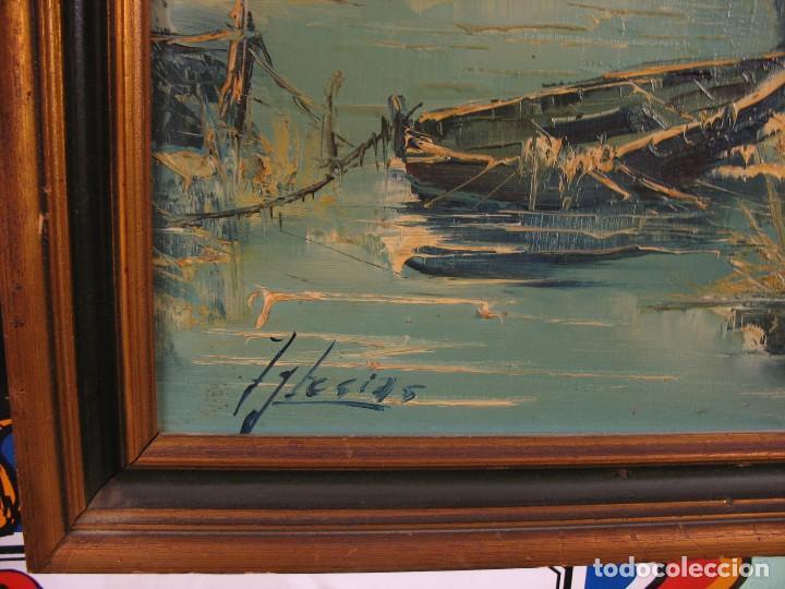 Arte: cuadro al oleo sobre tela firmado - Foto 9 - 277097263