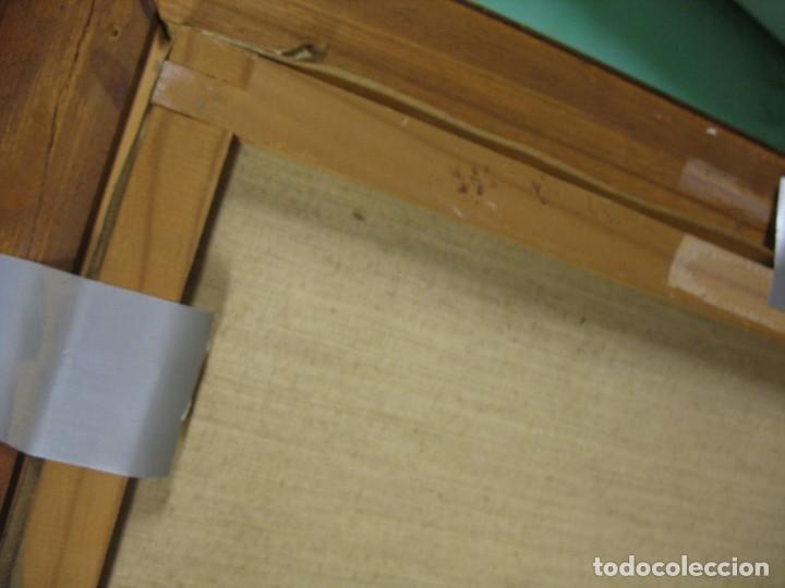 Arte: cuadro al oleo sobre tela firmado - Foto 11 - 277097263