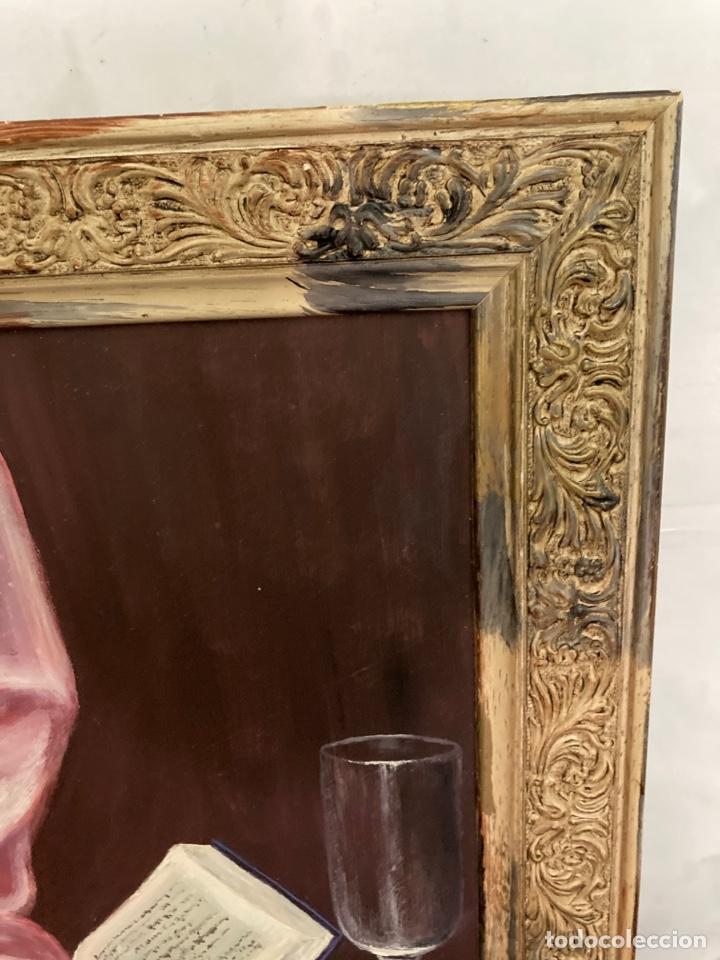 Arte: Cuadro de óleo sobre tabla , original y firmado, - Foto 2 - 277155398