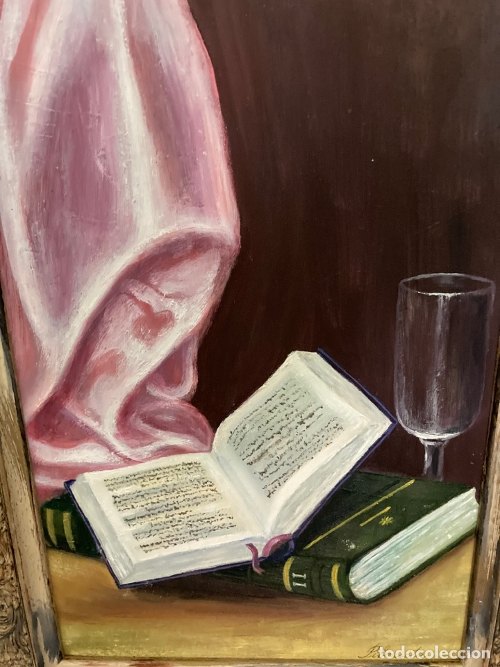 Arte: Cuadro de óleo sobre tabla , original y firmado, - Foto 3 - 277155398