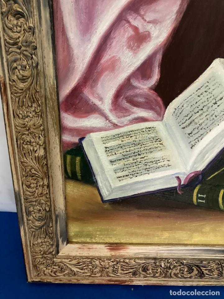 Arte: Cuadro de óleo sobre tabla , original y firmado, - Foto 4 - 277155398