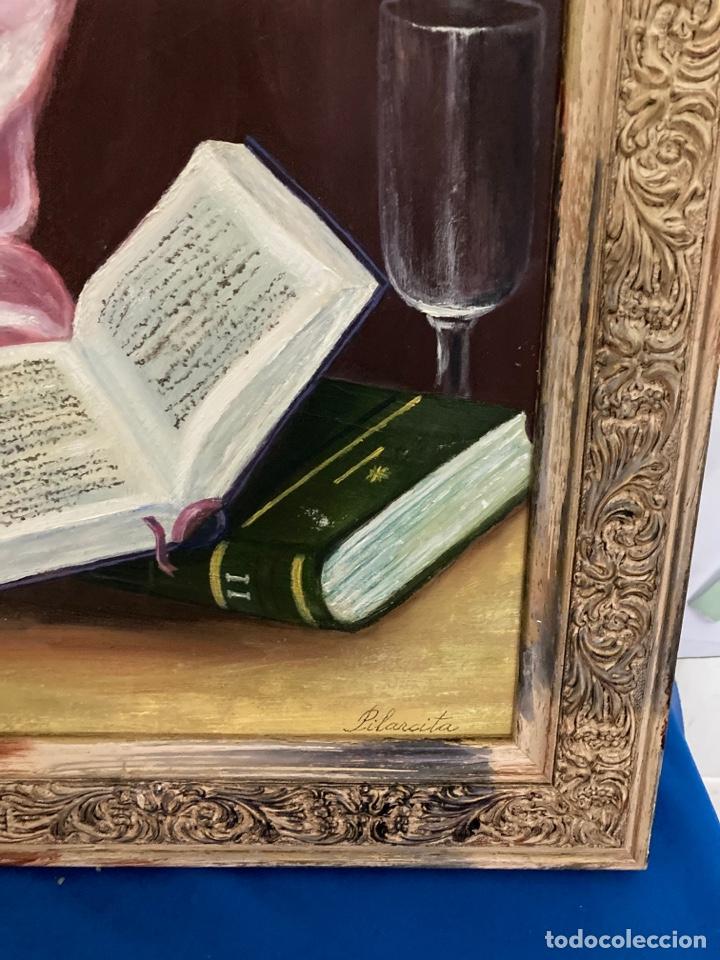 Arte: Cuadro de óleo sobre tabla , original y firmado, - Foto 5 - 277155398